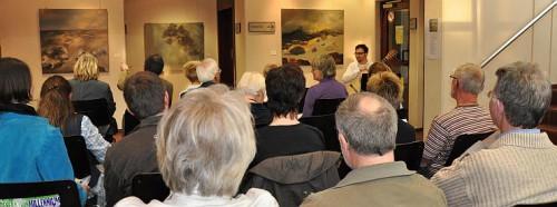 Vernissage zur Ausstellung von Petra Fleckenstein-Pfeifer