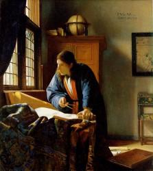 Jan Vermeer, Der Geograph