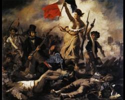Eugène Delacroix, Die Freiheit führt das Volk