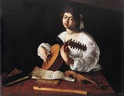 Caravaggio, Die Lautenspielerin