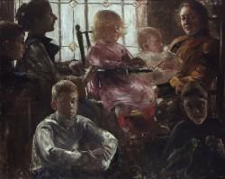 Lovis Corinth, Familie Rumpf