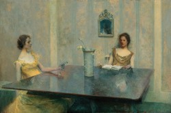 Thomas Wilmer Dewing, A Reading