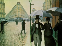 Gustave Caillebotte, Rue de Paris, temps de pluie