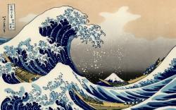 Katsushika Hokusai, Die Welle