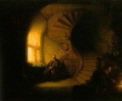 Rembrandt, Der Philosoph