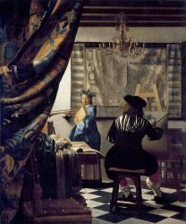 Jan Vermeer, Die Malkunst (Allegorie der Malerei)
