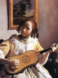Jan Vermeer, Die Gitarrenspielerin