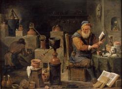 David Teniers d.J., Der Alchimist