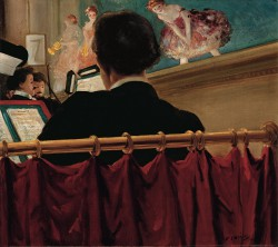 Everett Shinn, The Orchestra Pit, Old Proctor