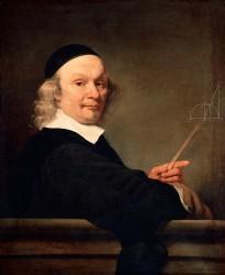 Ferdinand Bol, Bildnis eines Mathematikers