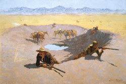 Frederic Remington, Fight for the Water Hole