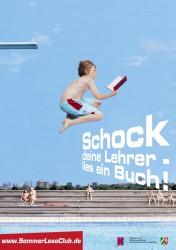 SommerLeseClub Plakat