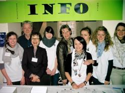 Info-Stand beim Berufsforum 2011 (Foto: Oliver Rachner)