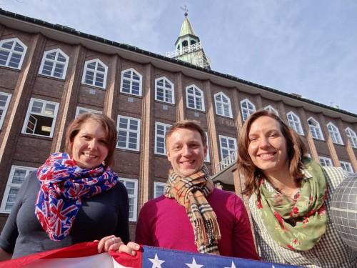 Annika Hoeschen, Moritz Tonk und Julia Kämpken (v.l.) (Foto: Oliver Rachner)