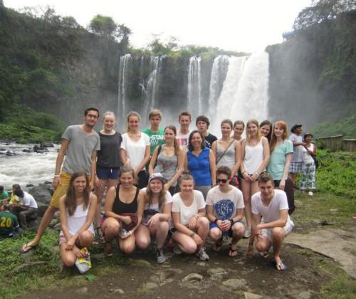 Gruppenbild der deutschen Reisegruppe