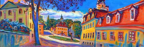 Lena Jurikowa: Weimar, Belvedere