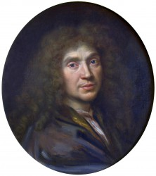 Pierre Mignard, Molière (um 1658)