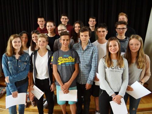 Die Medienscouts des Schuljahres 2015/16 (Foto: Oliver Rachner)