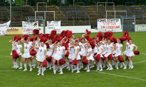 Abi-Duell 2017 im Heidewald-Stadion (Foto: Michael Schuh - Neue Westfälische)