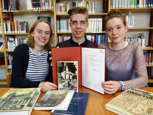 Pauline Husemann, Marius Mischke und Greta Zumbansen (Foto: Oliver Rachner)